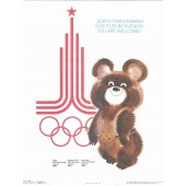 Games of the XXII Olympiad Moscow 1980 - You are Welcome!